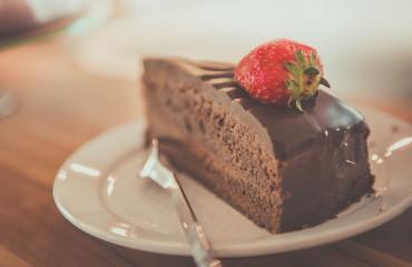 comer bem e ser feliz: bolo de chocolate sem glúten