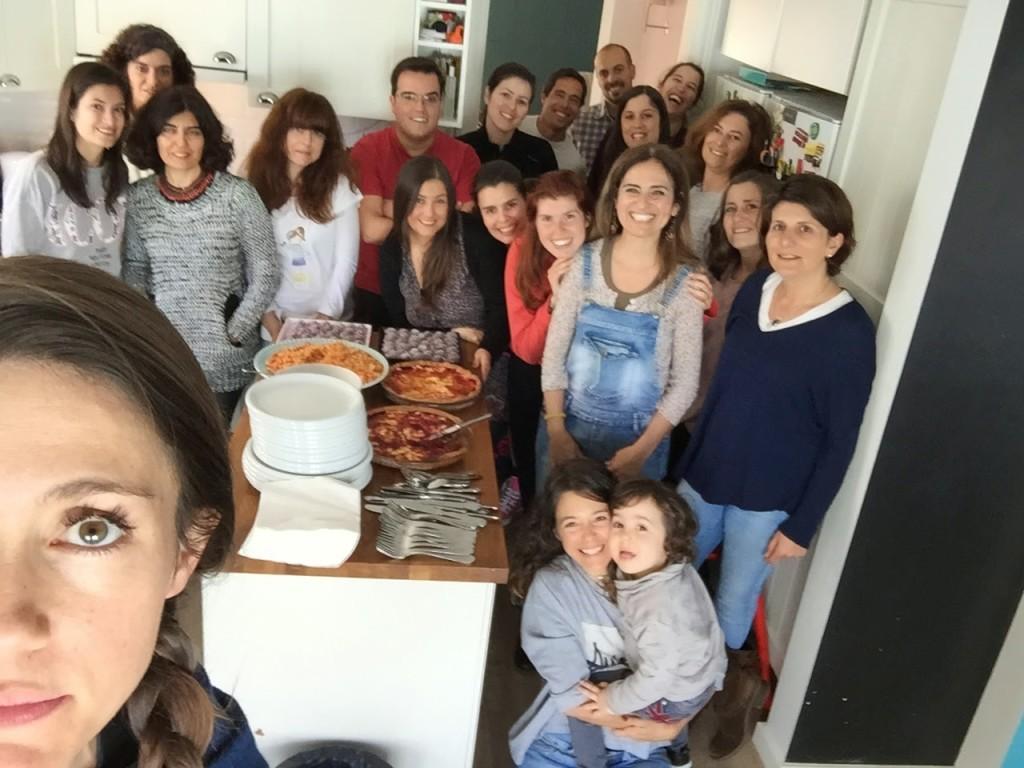 o maravilho e inesquecível workshop de comida vegetarina