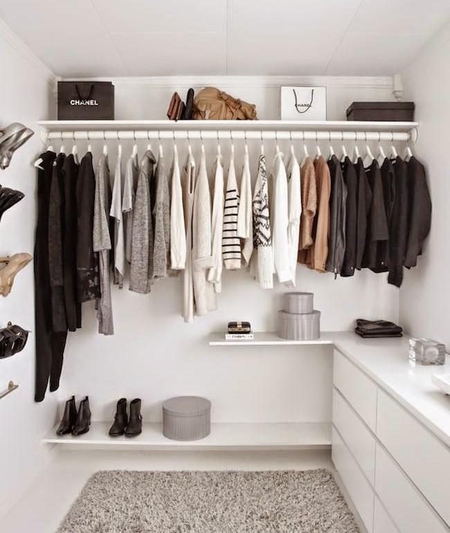 Closet que respira: como ter um guarda-roupa prático e low cost?