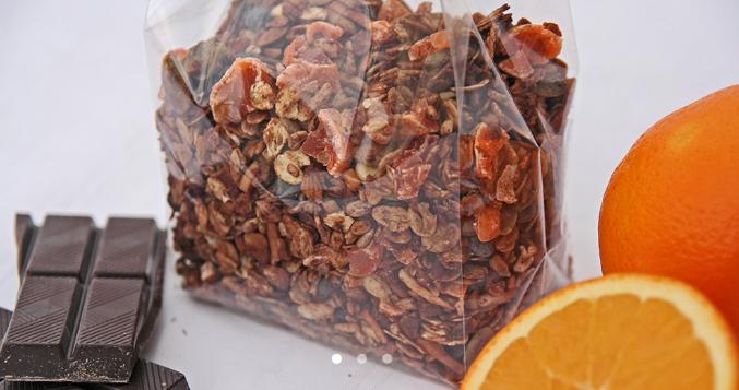 comer bem e ser feliz: há muitos motivos para comer granola