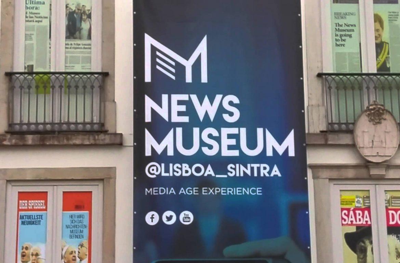 fim de semana indoor: ir ao NewsMuseum [e passear por sintra]