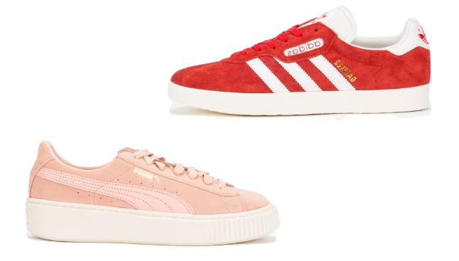 desejos consumistas: ténis em rosa [e outras cores giras para o verão]