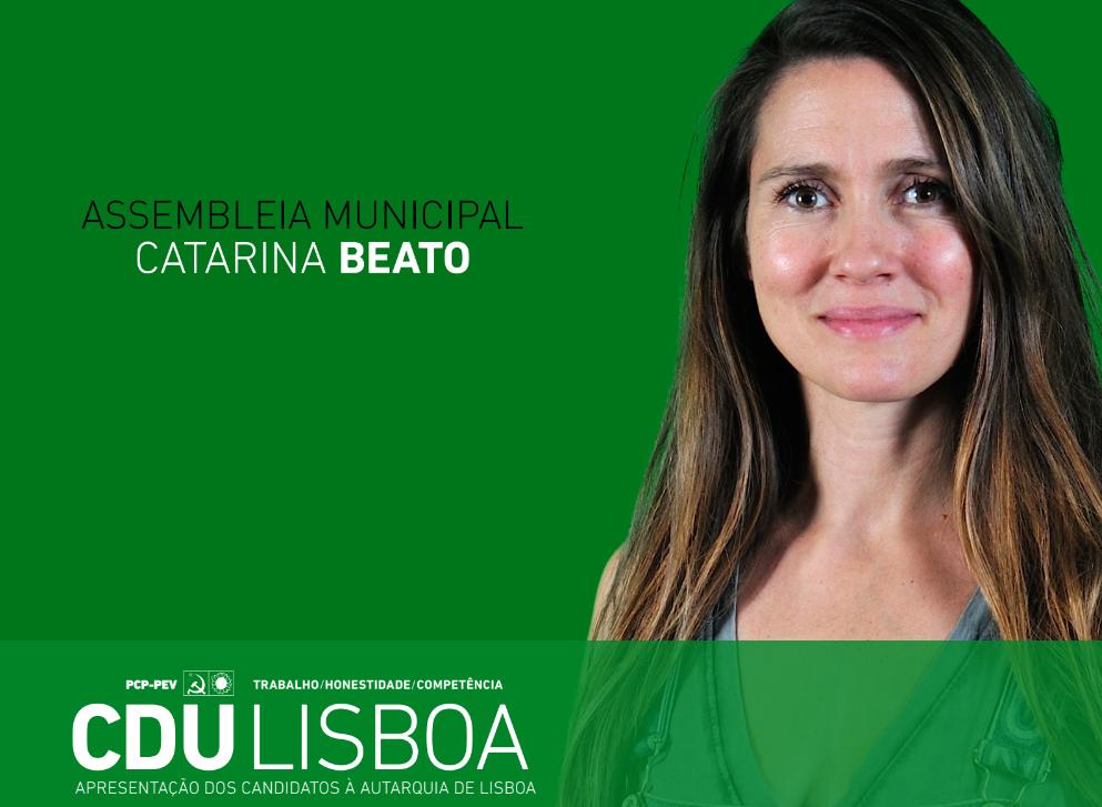 Domingo é dia de votar. Em Lisboa eu voto (e sou) CDU