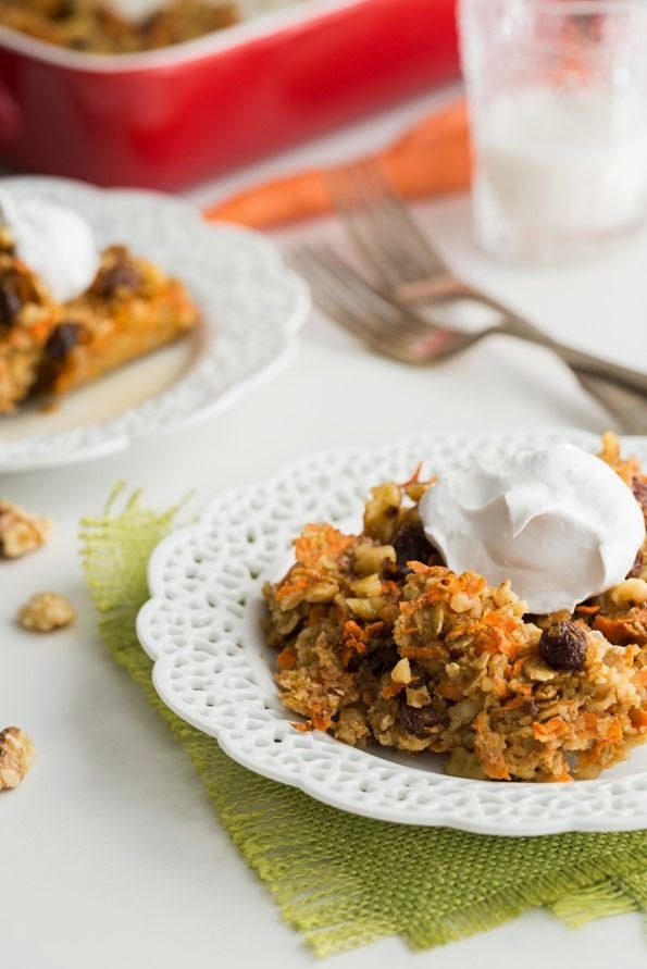 Ohsheglows Carrot Cake Oatmeal