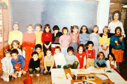 Primeiro dia de aulas. As memórias do primeiro dia de aulas